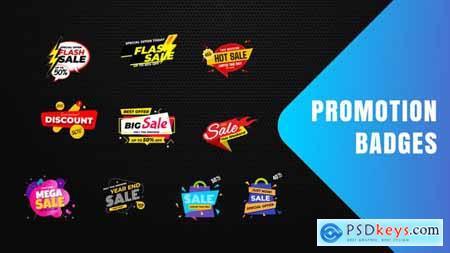 Badges Sale Promo V19 28854025
