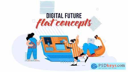 Digital Future - Flat Concept 28784775