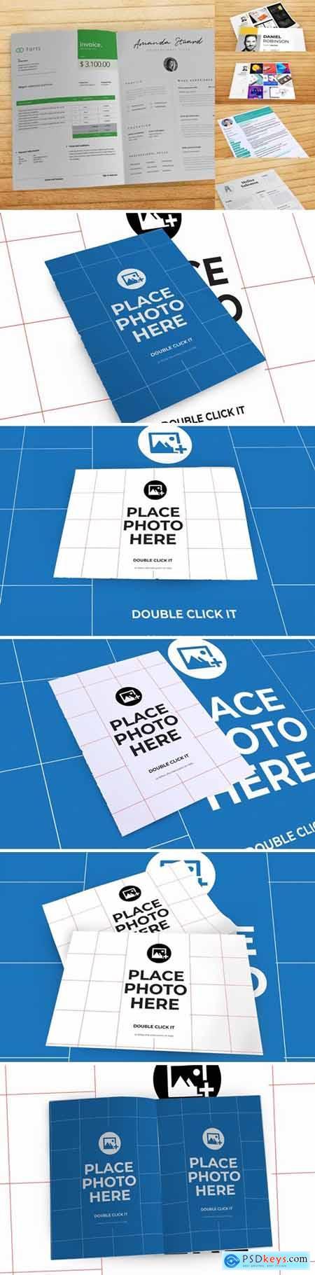 Cd Paper Realistic Mockup