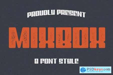 8 Font - MixBox Font Family