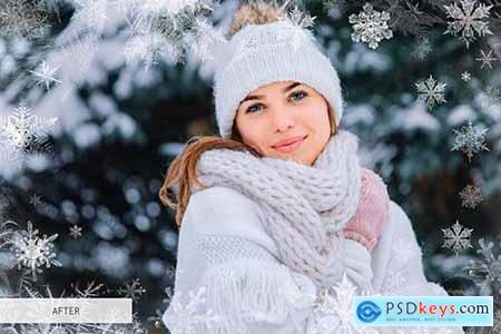 Winter Overlays Photoshop 4949169