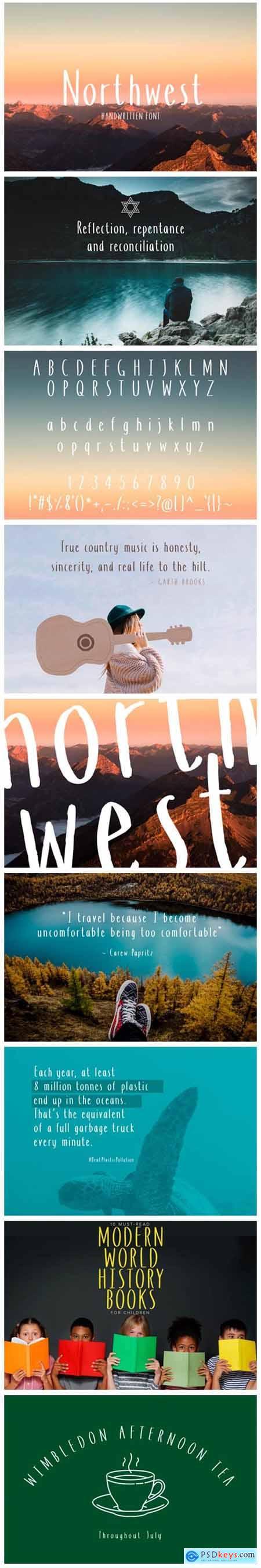 Northwest Font
