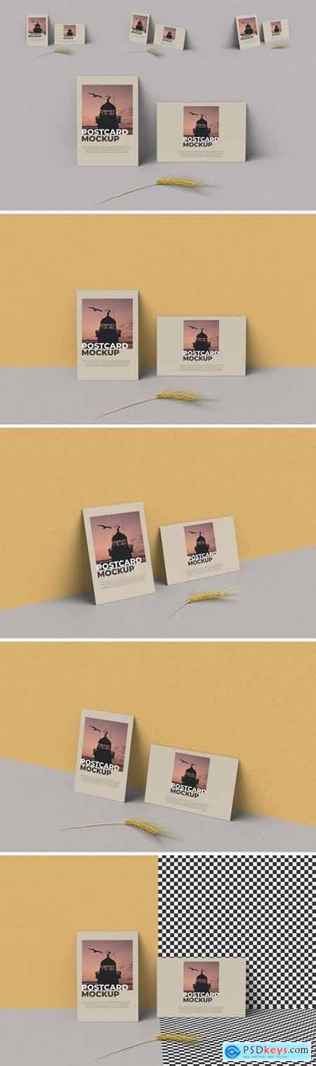 Postcard Mockup Photoshop Template