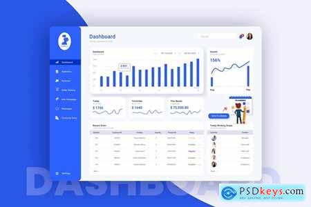 Fashion Shop Admin Dashboard UI Kit
