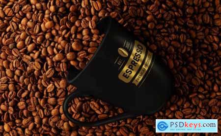 Coffee Mockup Branding Set