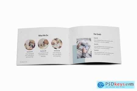 Working Space A5 Brochure Template