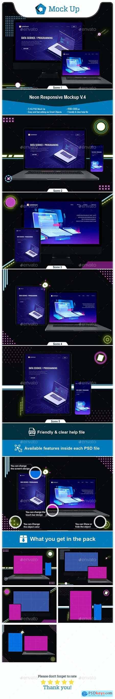 Neon Responsive Mockup V.4 27514975