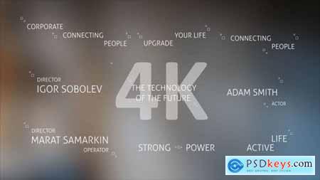 Technology Titles and Alphabet 4K 21309494