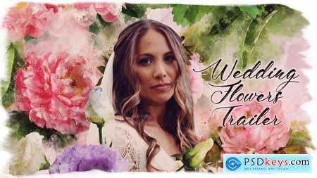 Wedding Flowers Trailer 25644435