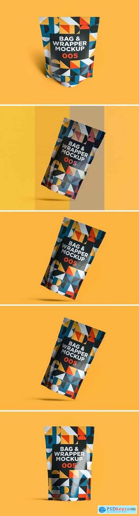 Bag & Wrapper Mockup 005