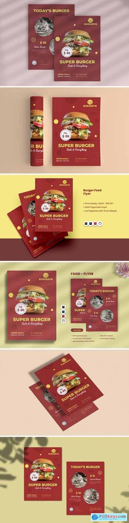 Burger Food Flyer