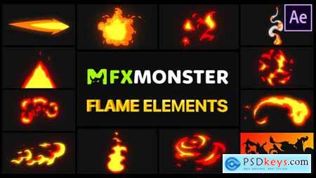 Flame Elements - After Effects 28890319