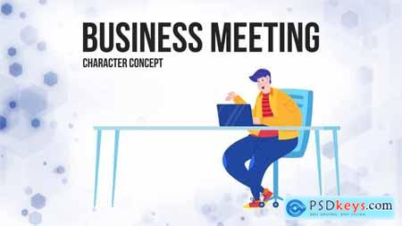Business meeting - Flat Concept 28862917