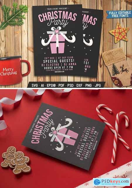 Christmas Party Gift Flyer