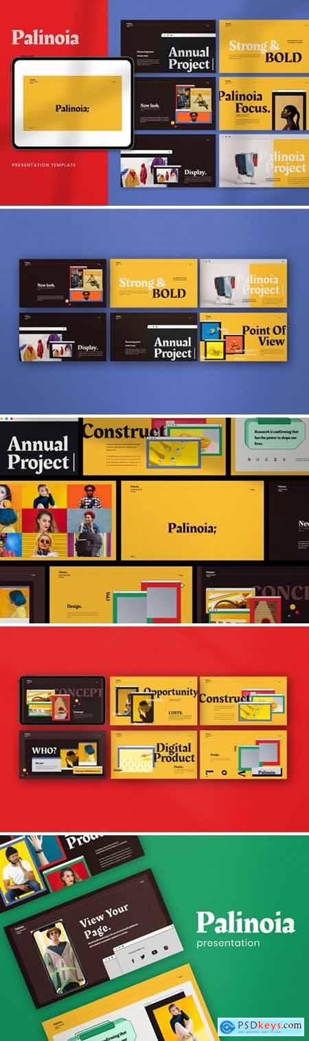 Palinoia - Creative Business Powerpoint, Keynote and Google Slides Templates