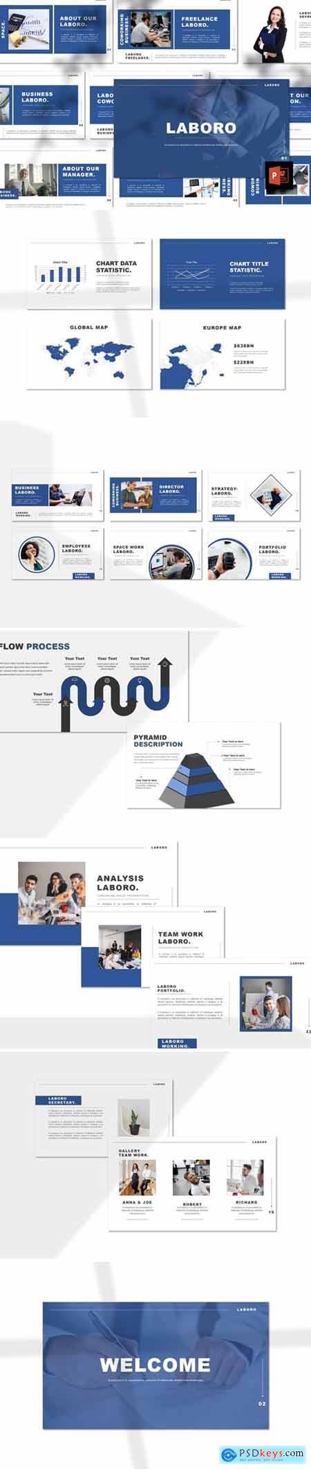 Laboro - Freelancer Powerpoint, Keynote and Google Slides Templates