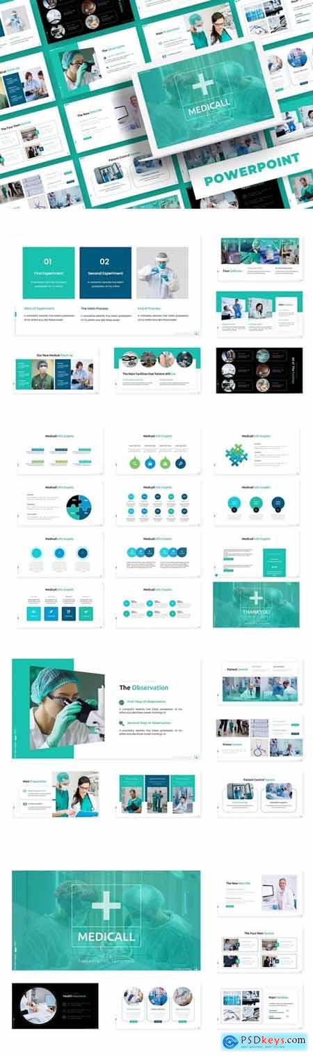 Medicall Powerpoint, Keynote and Google Slides Templates
