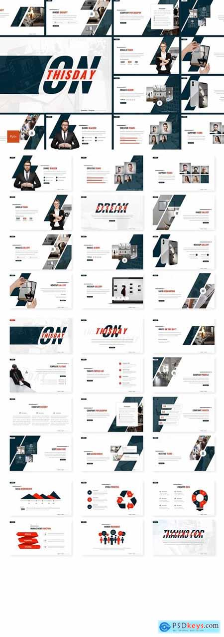Onthisday - Business Powerpoint, Keynote and Google Slides Templates