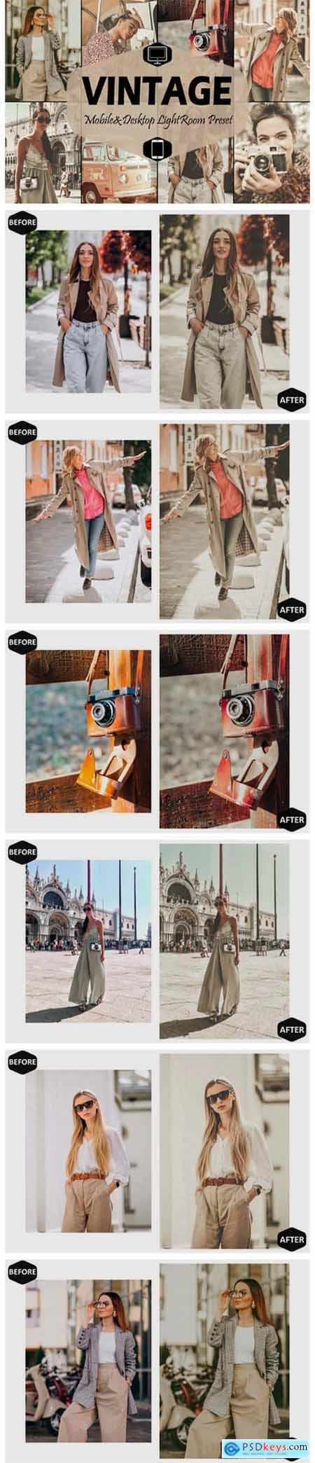 18 Vintage Mobile Lightroom Presets 5916075