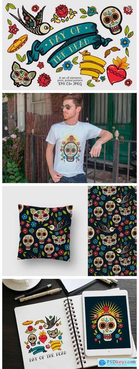 Dia De Los Muertos Clipart Collection 5773855