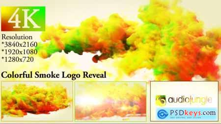 Colorful Smoke Logo Reveal 20000622