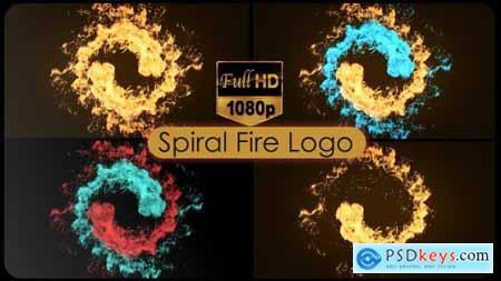 Spiral Fire Logo 21072499