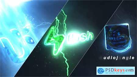Lightning Storm Logo Intro 27917562