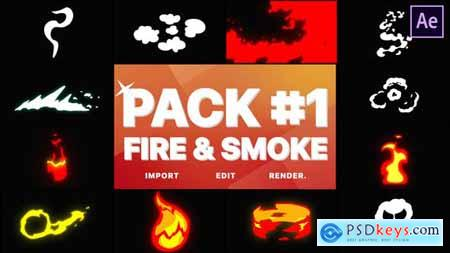 Fire And Smoke Pack 01 - After Effects 28902538
