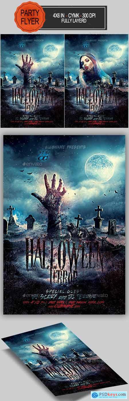 Halloween Flyer 24799597