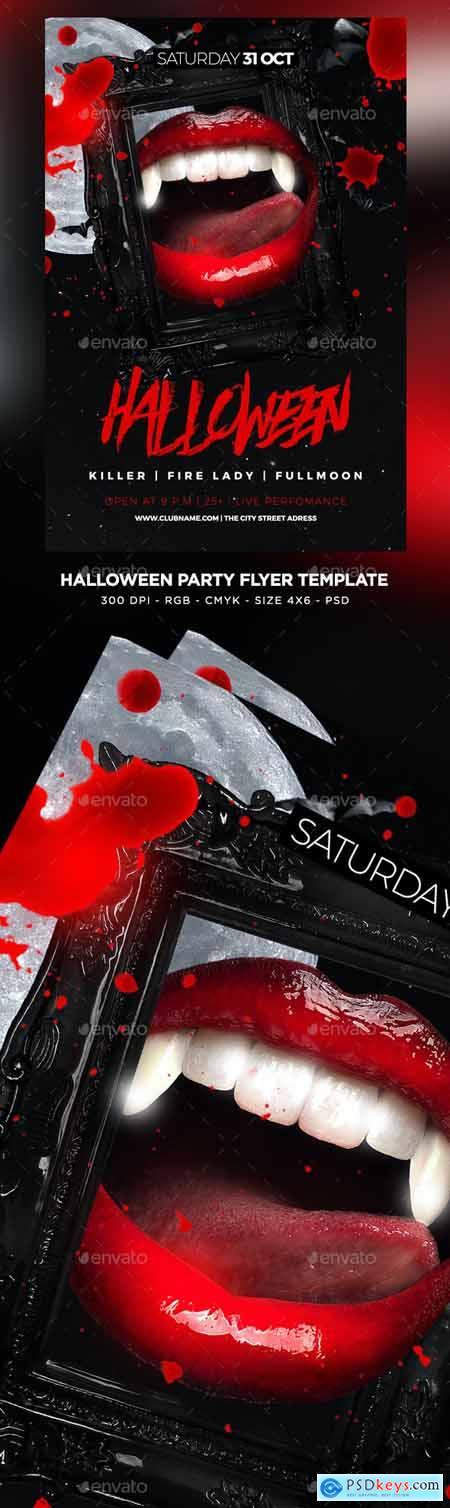 Halloween Flyer 24762761