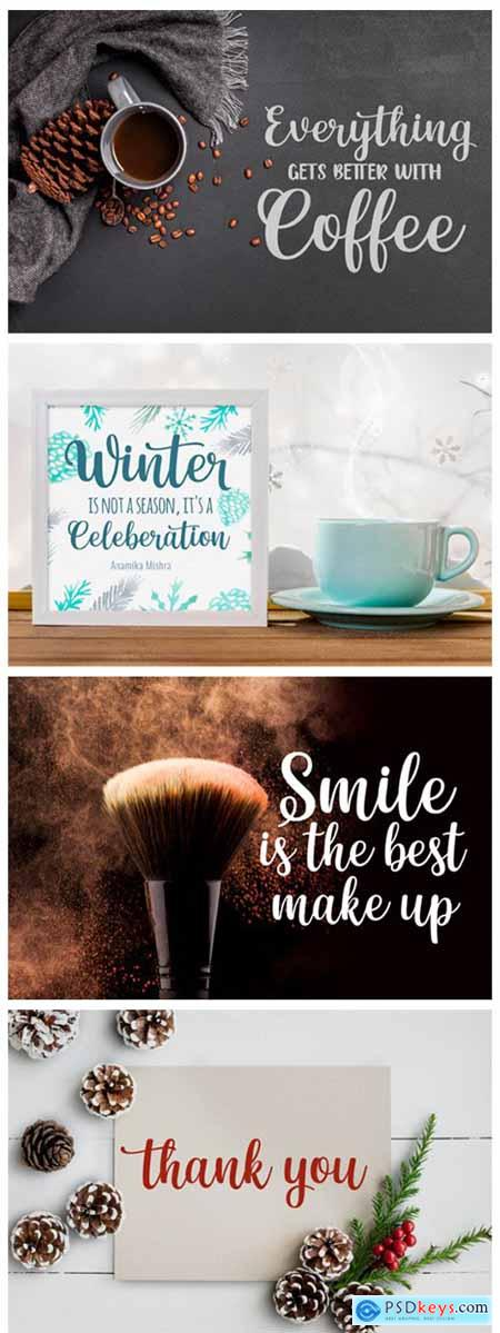Winter Beauty Font