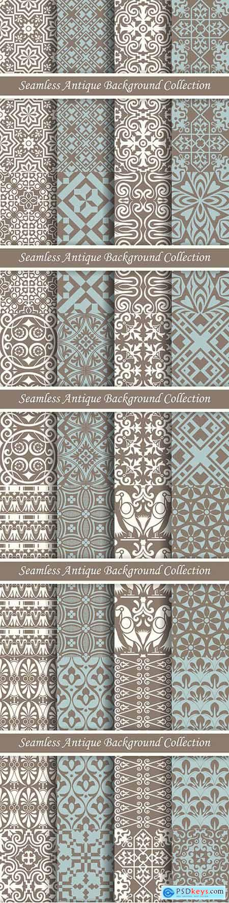 Antique classic seamless decoration elegant pattern