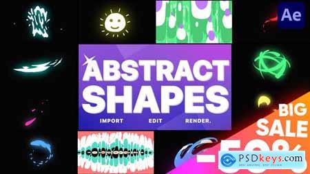 Abstract Liquid Shapes - After Effects 28961361