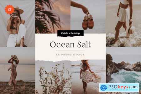 Ocean Salt – 6 Lightroom Preset Pack 5212710
