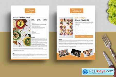 Recipe Book Template 5233228