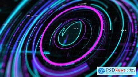 Sci-Fi HUD Intro 24190777