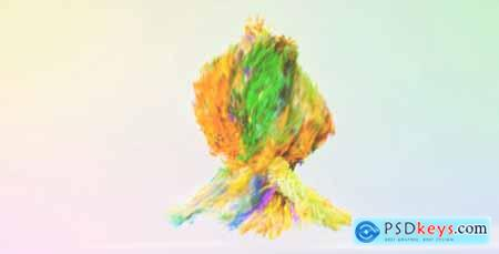 Growing Particle Logo Reveal 9299557