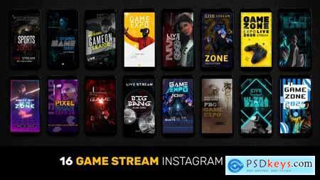 16 Game Stream Instagram Stories 28968207