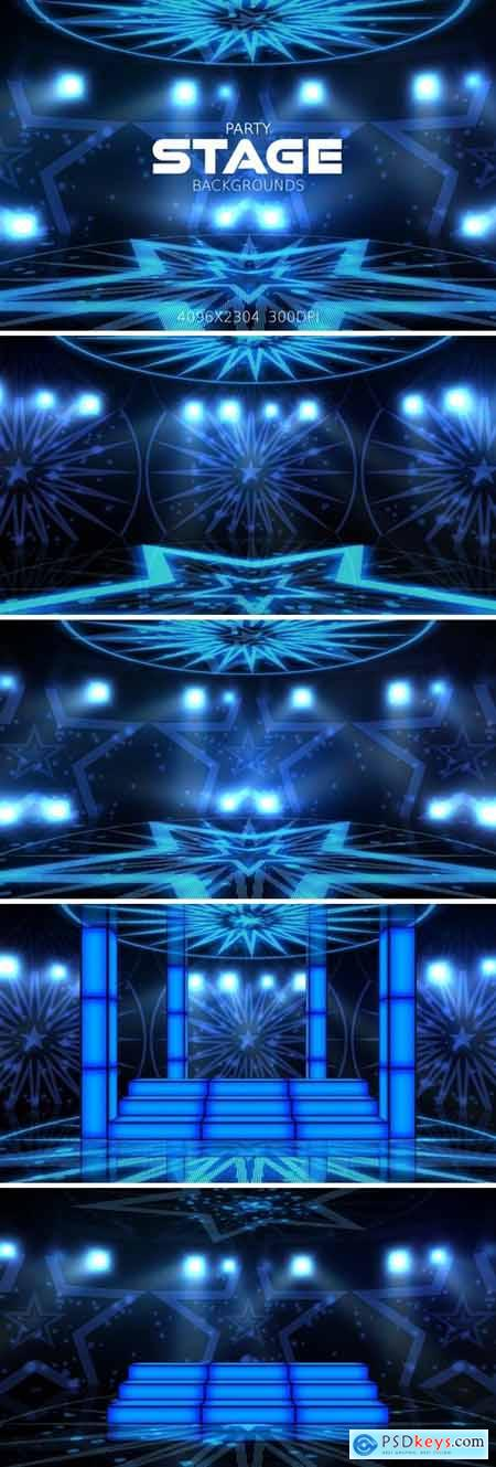 Party Stage Backgrounds