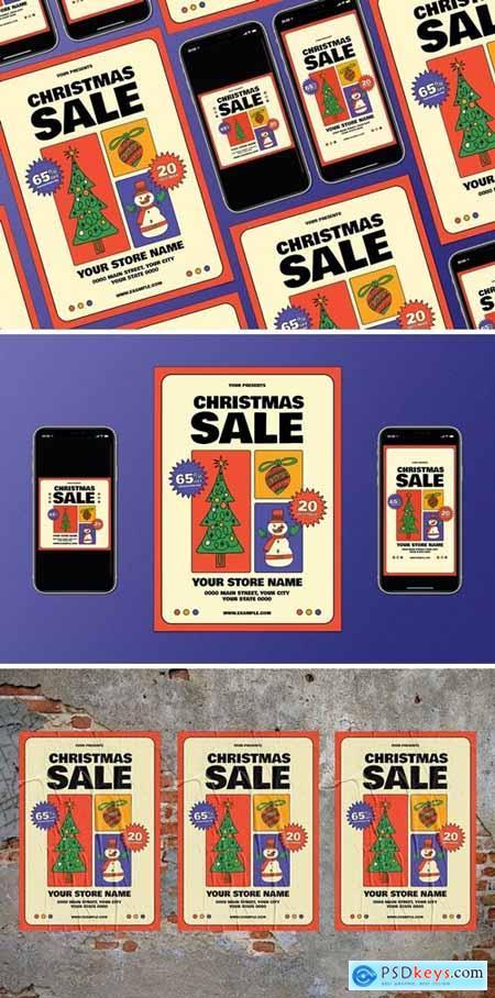 Doodle Christmas Sale