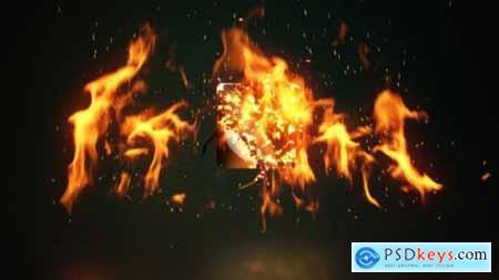 Fire Logo Reveal 28587599