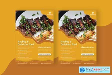 Food Steak - Flyer