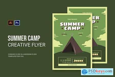 Summer Camp - Flyer