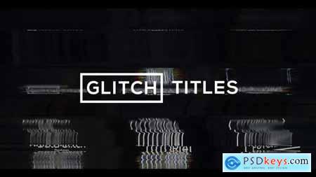 Glitch Modern Titles & Lower Thirds 28914948