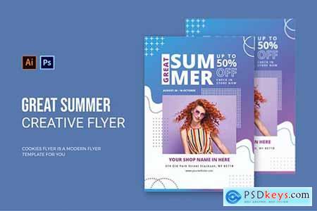 Great Summer Sale - Flyer