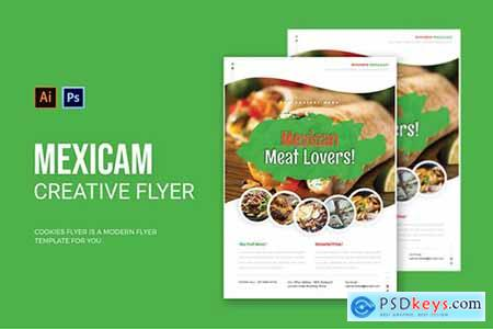 Mexican Meat Lovers - Flyer
