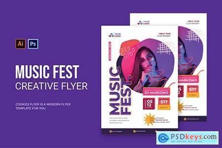 Music Fest - Flyer