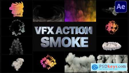 VFX Action Smoke - After Effects 29026754