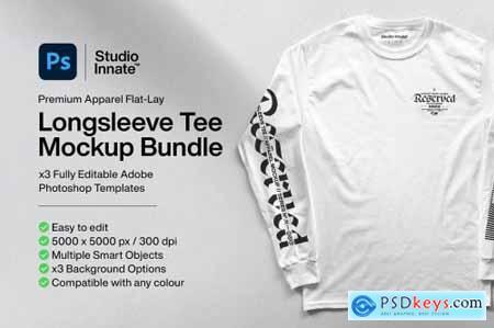 Long Sleeve Tee - Mockup Bundle 5183065