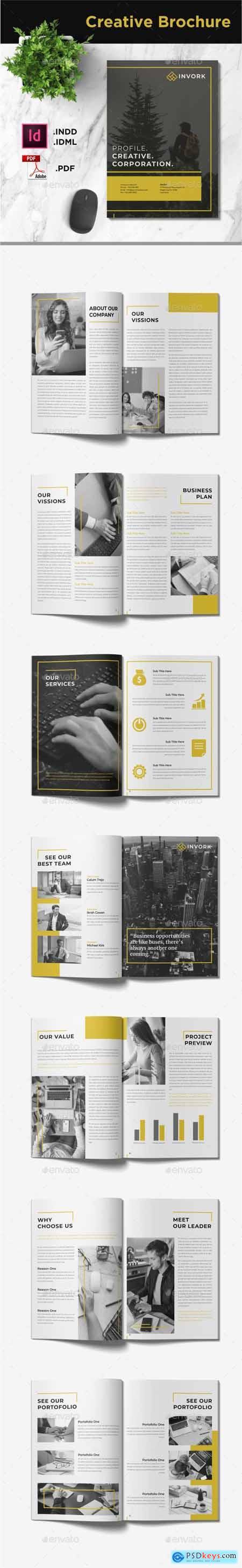 Invork - Business Brochure Template 28458511